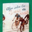 Coleccionismo deportivo: LIBRITO . EDITORIAL DEPORTIVA FHER . CICLISMO . ALGO SOBRE LOS 6 DIAS DE PARIS . Nº 52. Lote 51326032