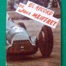 Coleccionismo deportivo: LIBRITO . EDITORIAL DEPORTIVA FHER . CICLISMO . EL RECORD DE JOSE MEIFFRET . Nº 43. Lote 51326541