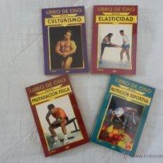 Coleccionismo deportivo: LIBRO DE ORO. LOTE DE LIBROS DEPORTIVOS. Lote 51362806