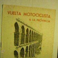 Coleccionismo deportivo: PROGRAMA 8 PAG.TARRAGONA VUELTA MOTOCICLISTA.-1958 -MOTO CLUB TARRAGONA BB. Lote 51533312