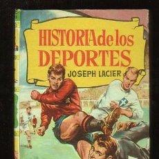 Coleccionismo deportivo: HISTORIA DE LOS DEPORTES CON 250 ILUSTRACIONES JOSEPH LACIER BRUGUERA. Lote 51604112
