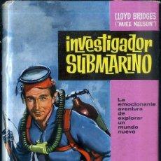 Coleccionismo deportivo: LLOYD BRIDGES : INVESTIGADOR SUBMARINO (BRUGUERA, 1962) . Lote 51661374