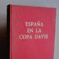 Coleccionismo deportivo: ESPAÑA EN LA COPA DAVIS - EJEMPLAR AUTOGRAFIADO POR SANTANA, ORANTES, ARILLA, GISBERT Y BARTROLI. Lote 51919053