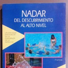Coleccionismo deportivo: NADAR. DEL DESCUBRIMIENTO AL ALTO NIVEL. ENSEÑANZA DE LA NATACIÓN. PATRICK SCHMITT. HISPANO EUROPEA. Lote 52408362