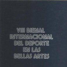 Coleccionismo deportivo: VIII BIENAL INTERNACIONAL DEL DEPORTE EN LAS BELLAS ARTES (CONTIENE 80 DIAPOSITIVAS). Lote 52416682