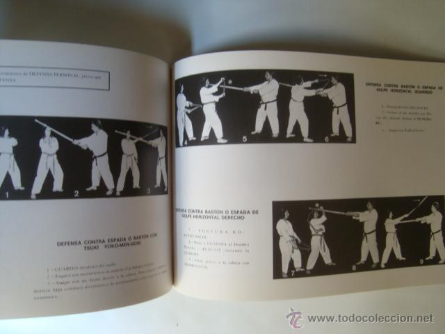 Coleccionismo deportivo: NUNCHAKU. TÉCNICAS SUPERIORES + DEFENSA Y ATAQUE + SINAWALI. LOS PALOS DESTRUCTORES DE KALI (DAIMYO) - Foto 2 - 52505065