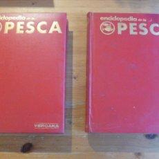 Colecionismo desportivo: ENCICLOPEDIA DE LA PESCA. HUERTA Y PALAUS. VERGARA. 2 VOL. 1970 400 PP Y 400 PP. Lote 52868133