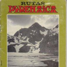 Coleccionismo deportivo: LUIS ALEJOS: DEL MIDI DE OSSAU AL VIGNEMALE. 1986. RUTAS PIRENAYCA, Nº 1. MONTAÑISMO . Lote 53499105