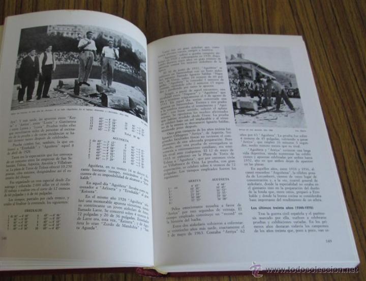 Coleccionismo deportivo: Juegos y Deportes Vascos Por Rafael Aguirre Franco Edt Auñamendi - Foto 8 - 53640229