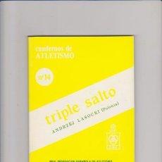 Coleccionismo deportivo: CUADERNOS DE ATLETISMO Nº 14 - TRIPLE SALTO - MADRID 1984. Lote 54204944
