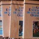 Coleccionismo deportivo: LA GRAN ENCICLOPEDIA DE LOS JUEGOS OLIMPICOS. COMPLETA 5 VOL. 1989 NUEVA , 240 PP. TOMO SIMIL PIEL. Lote 54319438