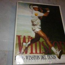 Coleccionismo deportivo: LIBRO WINSTON DEL TENIS PRIMERA EDICIÓN 1988 GIANNI CLERICI. Lote 54375040