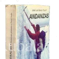 Coleccionismo deportivo: ANDANZAS ·· HOMENAJE POSTUMO A PACO LLEDÓ · JOSE LUIS GARCIA GUCHI · CREVILLENTE · ALICANTE. Lote 54676398