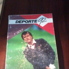 Coleccionismo deportivo: DEPORTE 92. 7. GOLF. EST21B3. Lote 54738354