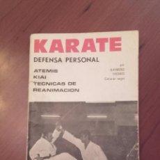 Coleccionismo deportivo: KARATE. DEFENSA PERSONAL. ATEMIS KIAI TÉCNICAS DE REANIMACIÓN. THOMAS, RAYMOND. Lote 54772046