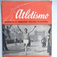 Coleccionismo deportivo: ATLETISMO , BOLETÍN DE LA FEDERACIÓN CATALANA Nº 1 , ENERO 1944. Lote 54911717