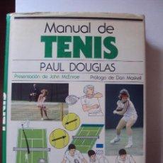 Coleccionismo deportivo: MANUAL DE TENIS - PAUL DOUGLAS - MUY ILUSTRADO * EDICIONES BLUME . Lote 55067627