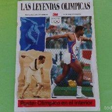 Coleccionismo deportivo: LA LEYENDAS OLÍMPICAS (1988) - (JUEGOS OLÍMPICOS, OLIMPIADAS HASTA 1988). Lote 56141255
