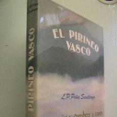 Coleccionismo deportivo: EL PIRINEO VASCO,PEÑA SANTIAGO,1988,ELKAR ED,REF MONTAÑA. Lote 56337461