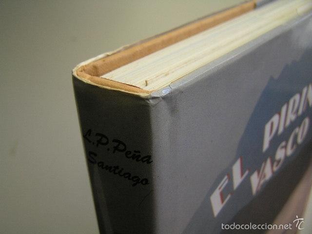 Coleccionismo deportivo: el pirineo vasco,peña santiago,1988,elkar ed,ref montaña - Foto 3 - 56337461
