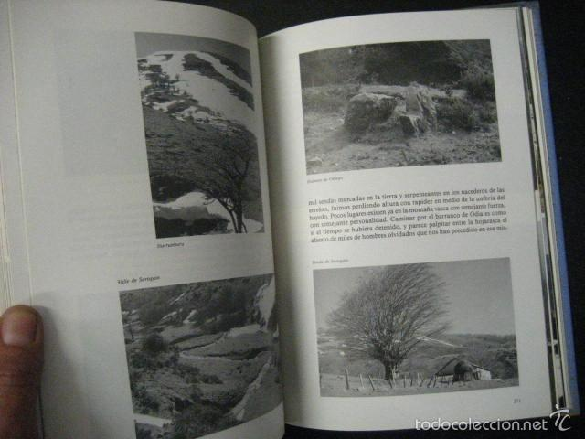 Coleccionismo deportivo: el pirineo vasco,peña santiago,1988,elkar ed,ref montaña - Foto 6 - 56337461