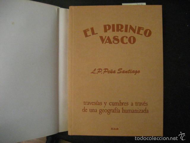 Coleccionismo deportivo: el pirineo vasco,peña santiago,1988,elkar ed,ref montaña - Foto 8 - 56337461