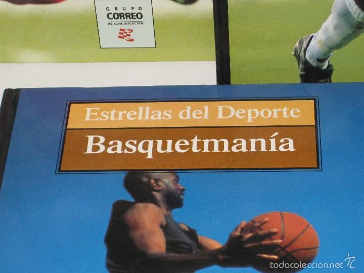 Coleccionismo deportivo: Cinco libros (Coleccion Estrellas del deporte) - Foto 2 - 56736289