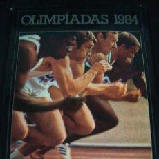 Coleccionismo deportivo: OLIMPIADAS 1984. PUBLICADO POR PHILIPS. TAPA DURA.. Lote 56889228
