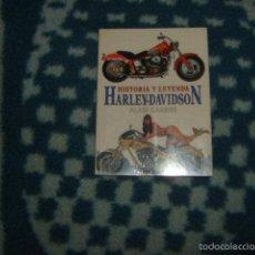 Coleccionismo deportivo: HISTORIA Y LEYENDA HARLEY-DAVIDSON , ALAIN CARRIER. Lote 56890154