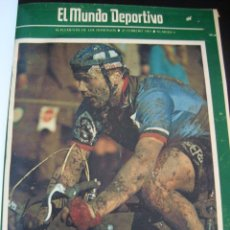 Coleccionismo deportivo: EL MUNDO DEPORTIVO. CICLOCROSS SOLO PARA DEPOTISTAS SUPERDOTADOS. 1958.. Lote 56897216