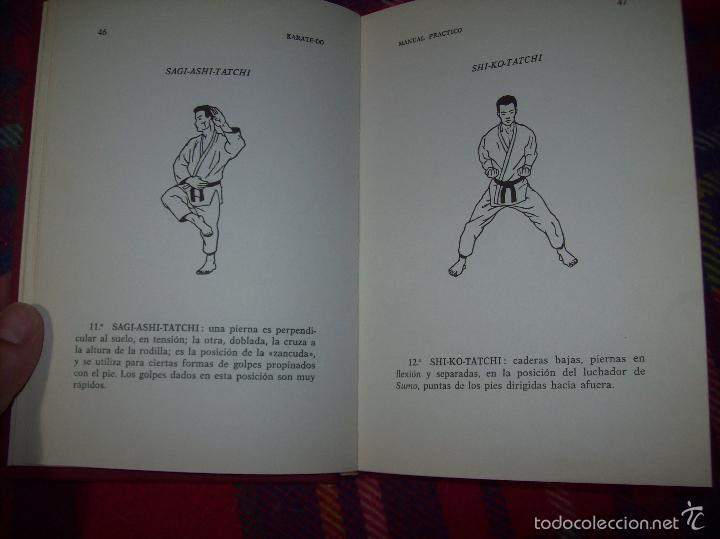 Coleccionismo deportivo: KARATÉ-DO. MANUAL PRÁCTICO. ROBERT LASSERRE. COLABORACIÓN INÉO OSAKI. ILUSTRACIONES RENÉ CHAUSSON. - Foto 13 - 57417494