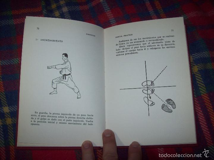 Coleccionismo deportivo: KARATÉ-DO. MANUAL PRÁCTICO. ROBERT LASSERRE. COLABORACIÓN INÉO OSAKI. ILUSTRACIONES RENÉ CHAUSSON. - Foto 18 - 57417494