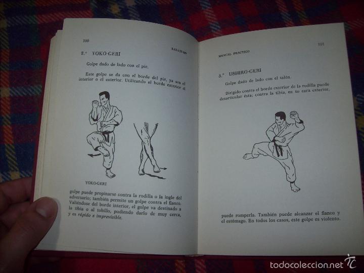 Coleccionismo deportivo: KARATÉ-DO. MANUAL PRÁCTICO. ROBERT LASSERRE. COLABORACIÓN INÉO OSAKI. ILUSTRACIONES RENÉ CHAUSSON. - Foto 23 - 57417494