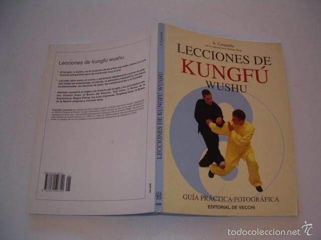ANTONIO CASARELLA, ROBERTO GHETTI. LECCIONES DE KUNGFÚ WUSHU. GUÍA PRÁCTICA FOTOGRÁFICA. RMT75400. (Coleccionismo Deportivo - Libros de Deportes - Otros)