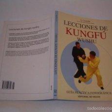 Coleccionismo deportivo: ANTONIO CASARELLA, ROBERTO GHETTI. LECCIONES DE KUNGFÚ WUSHU. GUÍA PRÁCTICA FOTOGRÁFICA. RMT75400.. Lote 57732114