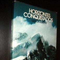 Coleccionismo deportivo: HORIZONTES CONQUISTADOS / GASTON REBUFFAT. Lote 58264167