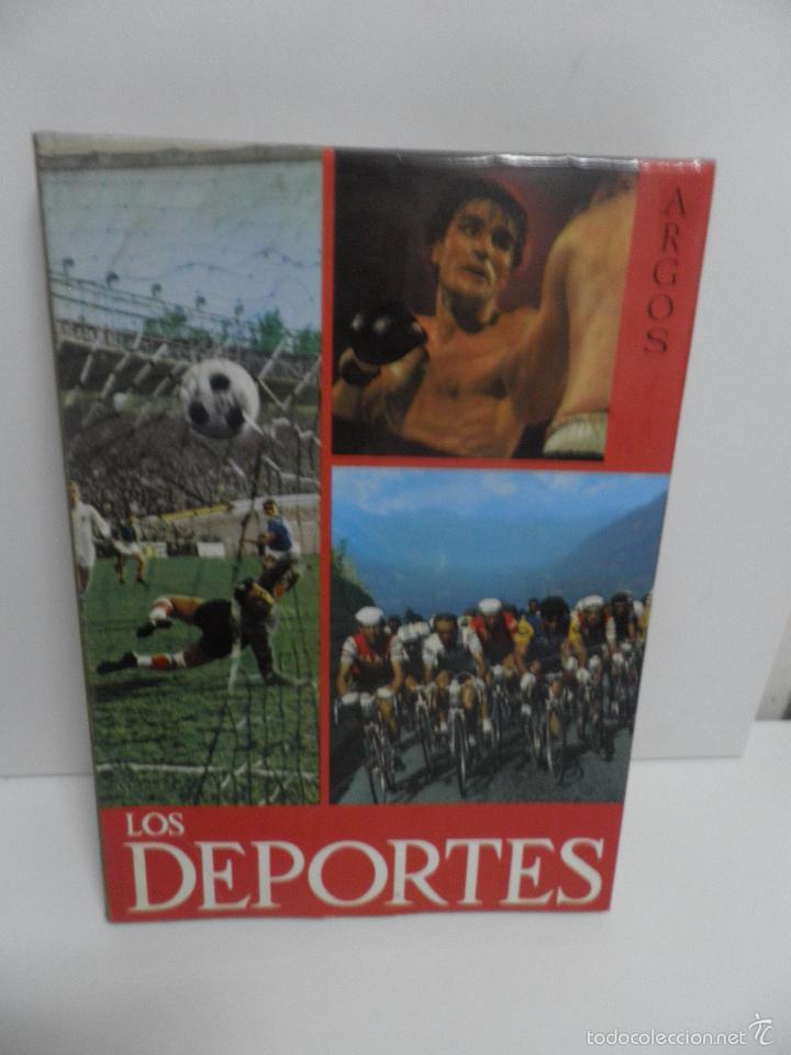 LOS DEPORTES - ARGOS - PROLOGO DE RICARDO ZAMORA- (Coleccionismo Deportivo - Libros de Deportes - Otros)