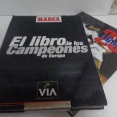 Coleccionismo deportivo: EL LIBRO DE LOS CAMPEONES Y 28 LIGAS BLANCAS SIN CROMOS , 2 LIBROS.. Lote 58453135