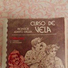 Coleccionismo deportivo: CURSO DE VELA - Nº 1 - TRIPULANTE - POR EL. ALBERTO ENGUIX - UNICO!. Lote 58932180