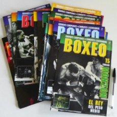 Coleccionismo deportivo: BOXEO GRANDES CAMPEONES COMBATES LEGENDARIOS - 25 FASCÍCULOS Y TAPA RBA DEPORTE BOXEADORES -NO LIBRO. Lote 59567559