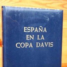 Coleccionismo deportivo: ESPAÑA EN LA COPA DAVIS - 1921 - 1969 EMILIO MARTINEZ DANIEL - DEDICATORIA AUTOR - 1970. Lote 61610208