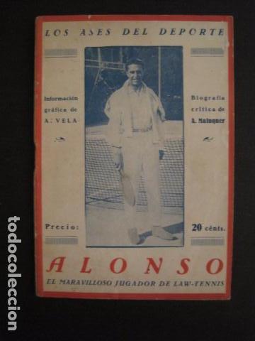 TENIS -ALONSO - LOS ASES DEL DEPORTE - LAW TENNIS -VER FOTOS ADICIONALES-(V-6559) (Coleccionismo Deportivo - Libros de Deportes - Otros)