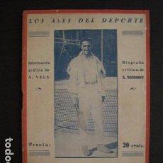 Coleccionismo deportivo: TENIS -ALONSO - LOS ASES DEL DEPORTE - LAW TENNIS -VER FOTOS ADICIONALES-(V-6559). Lote 61771800