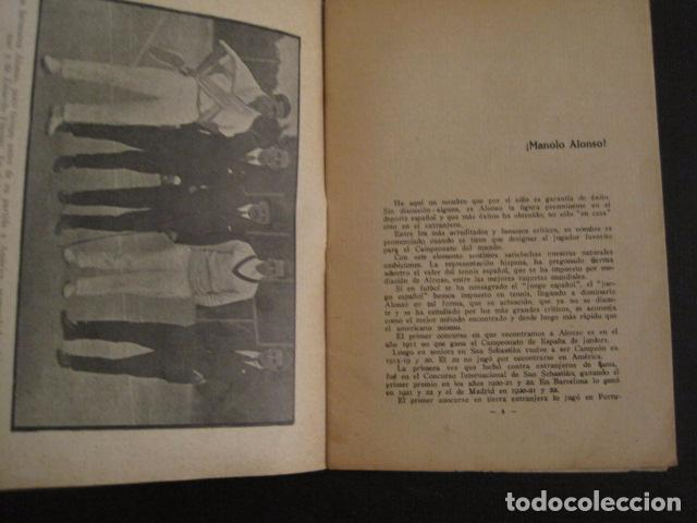Coleccionismo deportivo: TENIS -ALONSO - LOS ASES DEL DEPORTE - LAW TENNIS -VER FOTOS ADICIONALES-(V-6559) - Foto 4 - 61771800