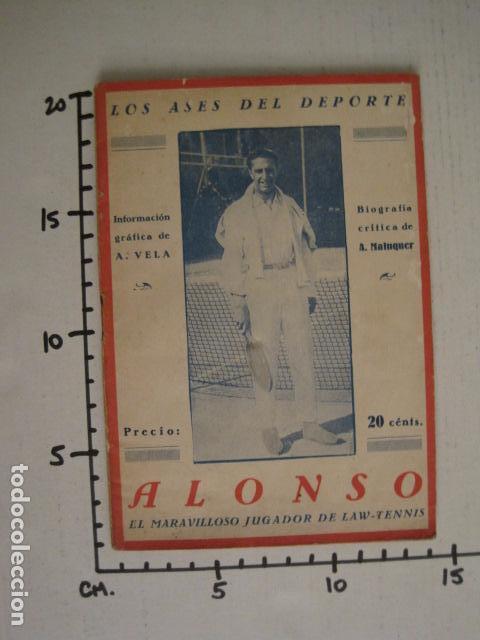 Coleccionismo deportivo: TENIS -ALONSO - LOS ASES DEL DEPORTE - LAW TENNIS -VER FOTOS ADICIONALES-(V-6559) - Foto 8 - 61771800