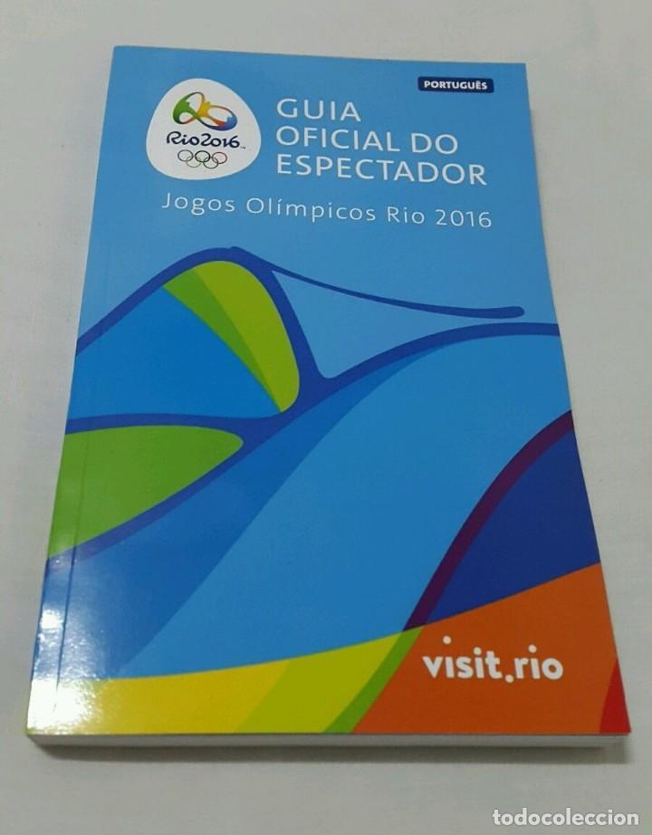 GUIA DEL ESPECTADOR JUEGOS DE RIO 2016 (Coleccionismo Deportivo - Libros de Deportes - Otros)