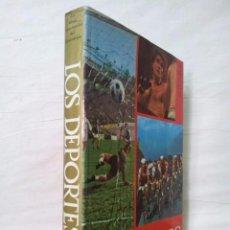 Coleccionismo deportivo - LOS DEPORTES. LA GRAN ENCICLOPEDIA DEL ESPECTÁCULO. 1967. MUY ILUSTRADO. GRAN FORMATO - 62354400