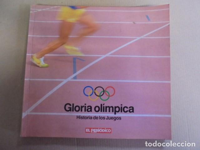 HISTORIA JUEGOS OLIMPICOS - GLORIA OLIMPICA - MAS DE 500 FOTOS - OLIMPIADAS LOS ANGELES 1984 (Coleccionismo Deportivo - Libros de Deportes - Otros)