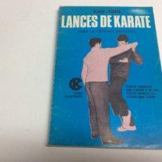 Coleccionismo deportivo: LANCES DE KÁRATE PARA LA DEFENSA PERSONAL / KAN YING. Lote 62604794