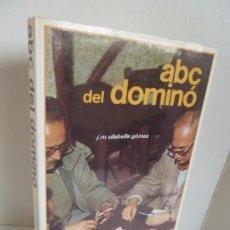 Coleccionismo deportivo - ABC DEL DOMINÓ (J.M. VILABELLA GÓMEZ) 2ª ED. HISPANO EUROPEA, 1984 - 62905776